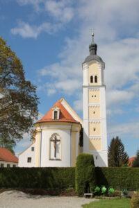 """Pfarrkirche """"St. Magnus"""" im Ortsteil Unterrammingen"""